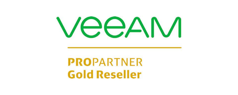 Certificación Gold de Veeam
